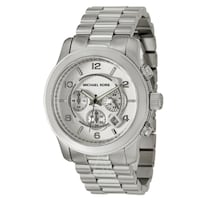 NEW Michael Kors MK8086 Men's Oversized Chrono Silver Watch  Toronto