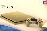 Limited edition Gold sony ps4 console with controller Toronto, M1E 5J6