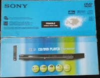 Sony CD/DVD Player Mississauga, L5J 4B3