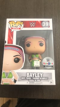 POP! Bayley vinyl figure box