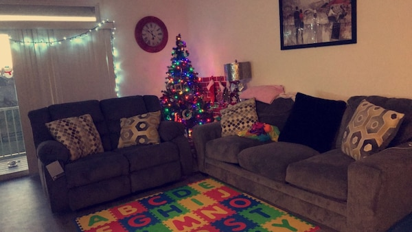 Two couches for sale.