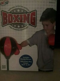 NEW. FREE STANDING BOXING SET.  Hanover, 17331
