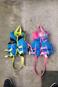 Hyperlite children's life vests.  Citrus Heights, 95621