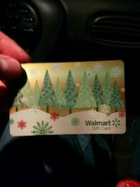 Walmart giftcard with $150 on it for 85bucks. East Rutherford, 07073