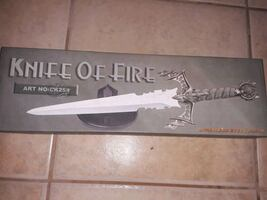 Brand New Knife Of Fire Display Knife