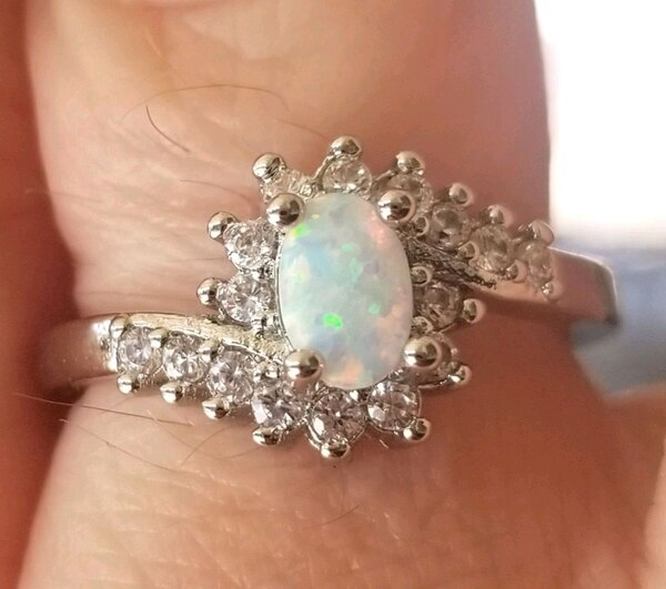 Opal ring...... size 6