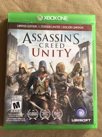 Limited edition Assassin's Creed Unity  Barrie, L4N 6T5