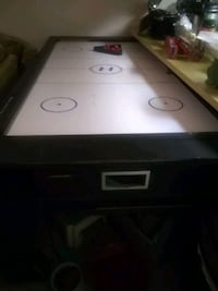 Hockey and pool table