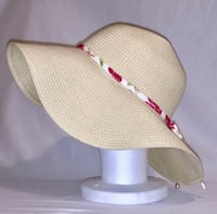 Laura Ashley Straw Sun Hat Hyattsville, 20782