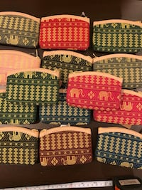 Price for one New with tag wallet coin purse.elephant