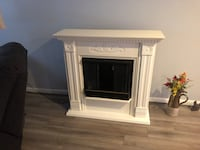 White wooden gel fuel fireplace  Charles Town, 25414