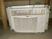 white Haier window-type air conditioner Nampa, 83687