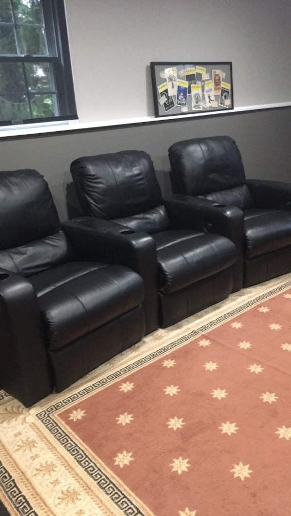 Used home theater seats for sale in Morristown - letgo