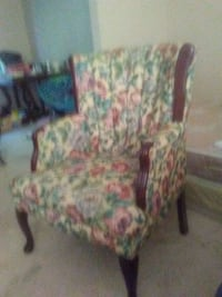 TWO matching floral chairs Charter Township of Clinton, 48038