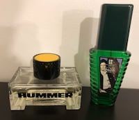 Set of 2 men's colognes - hummer polo Toronto