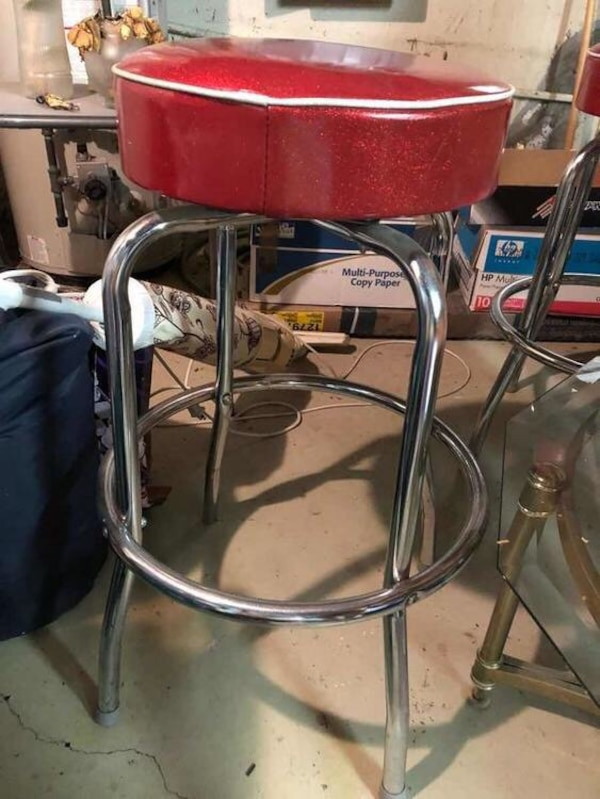 Awesome 2 Lucy Retro Bar Stools Dailytribune Chair Design For Home Dailytribuneorg