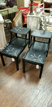 Two hand painted side tables Olney, 20832