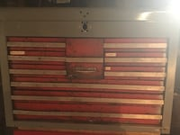 CRAFTSMAN 13 DRAWER TOOL BOX . USED CONDITION, SELLING AS IS, $35  Croydon, 19007