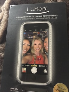 Brand new in box LuMee smartphone case that kites up your face for iPhone case 6 retails for $89.00