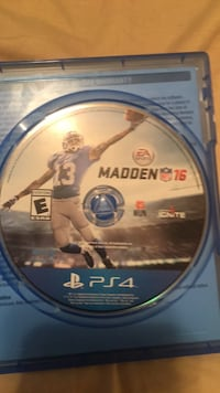 Ps4 madden nfl 16 disc