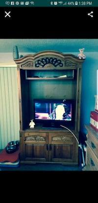 brown wooden cabinet with shelf  New Port Richey, 34653