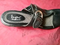 Woman's size7/8Hilled.Sandals Amarillo