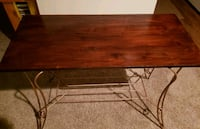Side table refurbished '50's era Indian Trail, 28079