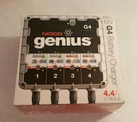 NOCO Genius G4 6V/12V 4.4 Amp 4-Bank Battery Charger Maintainer NEW Brampton, L6Y 3B2