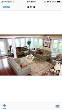 Sofas and loveseat and chair and ottoman