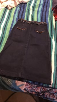 Long jean skirt with beads good for spring and summer #40 South Hadley, 01075