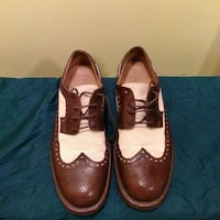 men's two toned brogue shoes New York