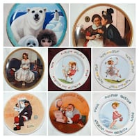 PLATE COLLECTOR - GOSSIPING, JUNE, JULY, AUGUST, SANTA CHRISTMAS, GIRL Mississauga