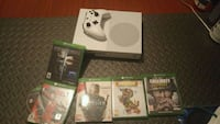Xbox one S with games Markham, L3R 3S4