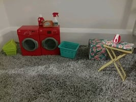 Our generation doll laundry set