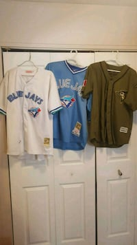 2 - 1993 world series jerseys and 1 special editio Cambridge, N1T 1L9