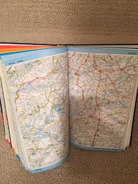Map navigation Europe Washington, 20015