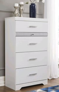 Brand New!!Ashley White Chest!Best Price in Baltimore, MD Baltimore