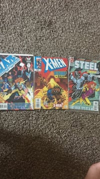 Old 90's comic books Lawrence, 46226