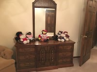 5 piece queen/full size bedroom set