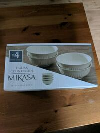 Mikasa Italian Countryside Fruit Bowls - Set of 4 St. Catharines, L2N 4B2