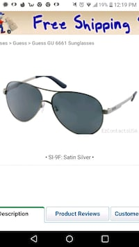 Guess Aviators with case and cloth Vancouver, V5M 4T9