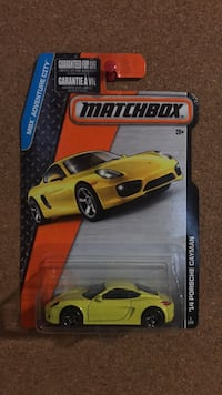 Porsche Cayman hot wheels matchbox diecast model car  Vaughan, L6A