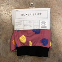 Urban Outfitters heart candy boxer brief Orange, 92865