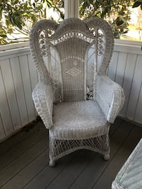 Wicker Chair — Ornate, pretty Ashburn, 20147