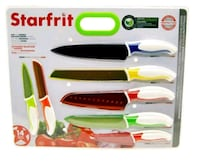 7 PC STARFRIT KNIFE SET Pickering, L1V