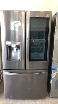 Kenmore French doors refrigerator four months warranty