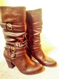 Brown boots (Size 6)