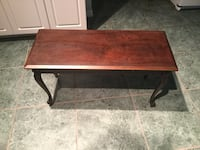Piano bench / side table wooden Edgewater, 32141