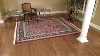 persian oriental rug with pad Columbia