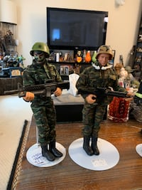 1990 G.I. Joes all 4 for $100 London, N5Y 3L7